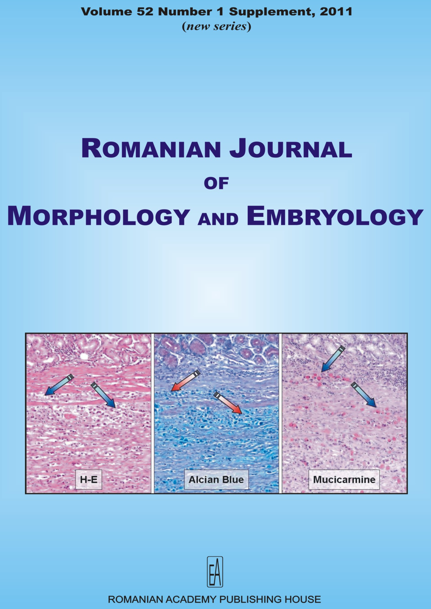 Romanian Journal of Morphology and Embryology, vol. 52 no. 1Suppl, 2011