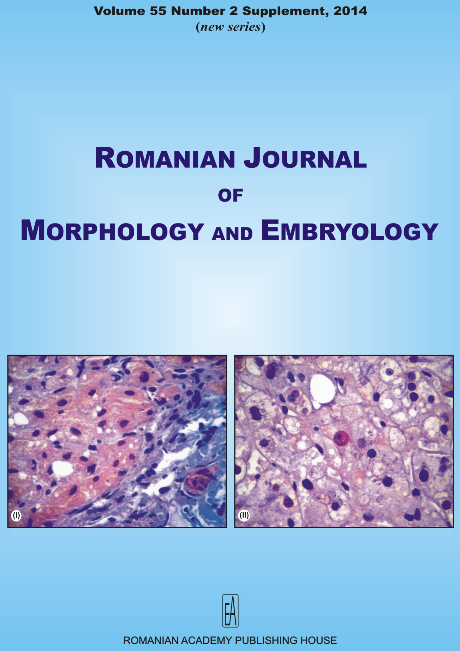 Romanian Journal of Morphology and Embryology, vol. 55 no. 2Suppl, 2014