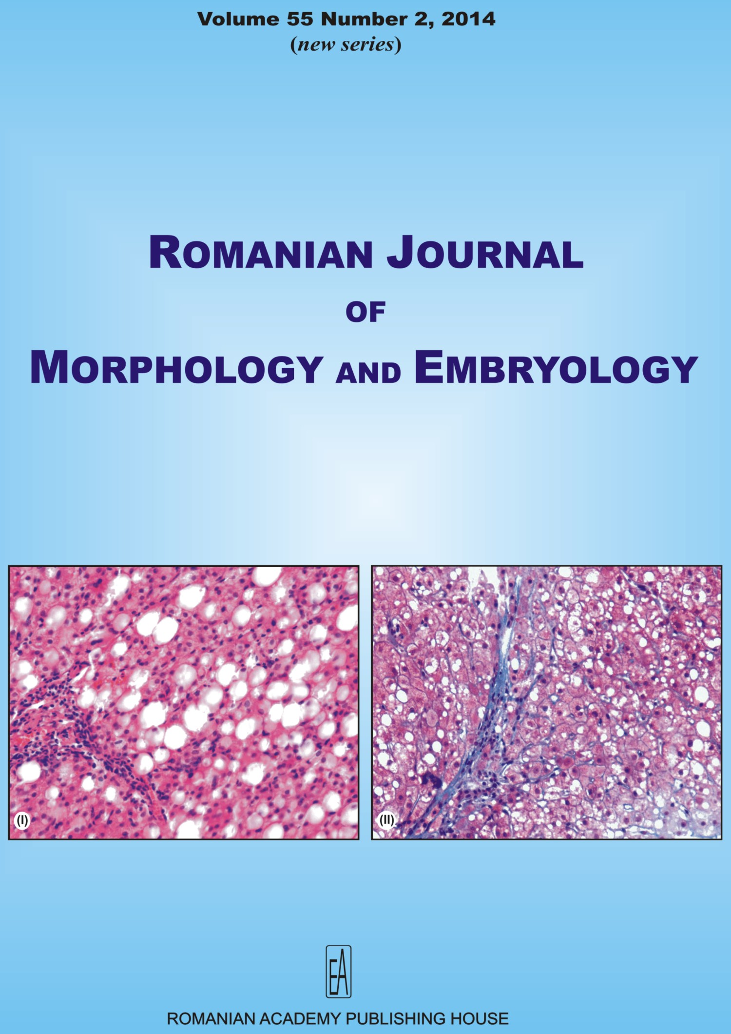Romanian Journal of Morphology and Embryology, vol. 55 no. 2, 2014