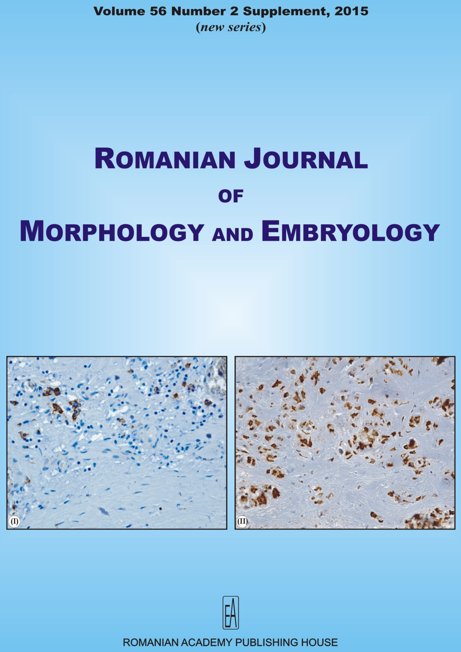 Romanian Journal of Morphology and Embryology, vol. 56 no. 2Suppl, 2015