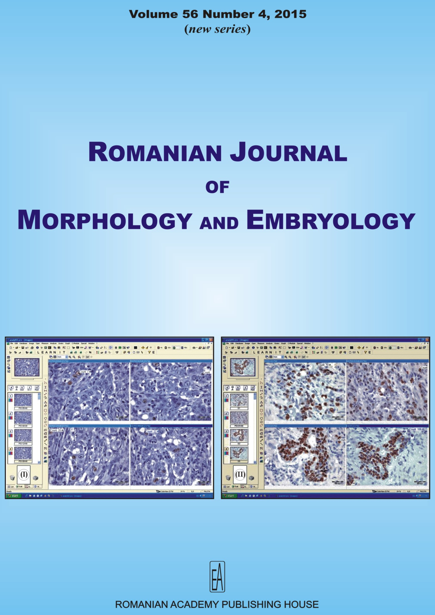 Romanian Journal of Morphology and Embryology, vol. 56 no. 4, 2015