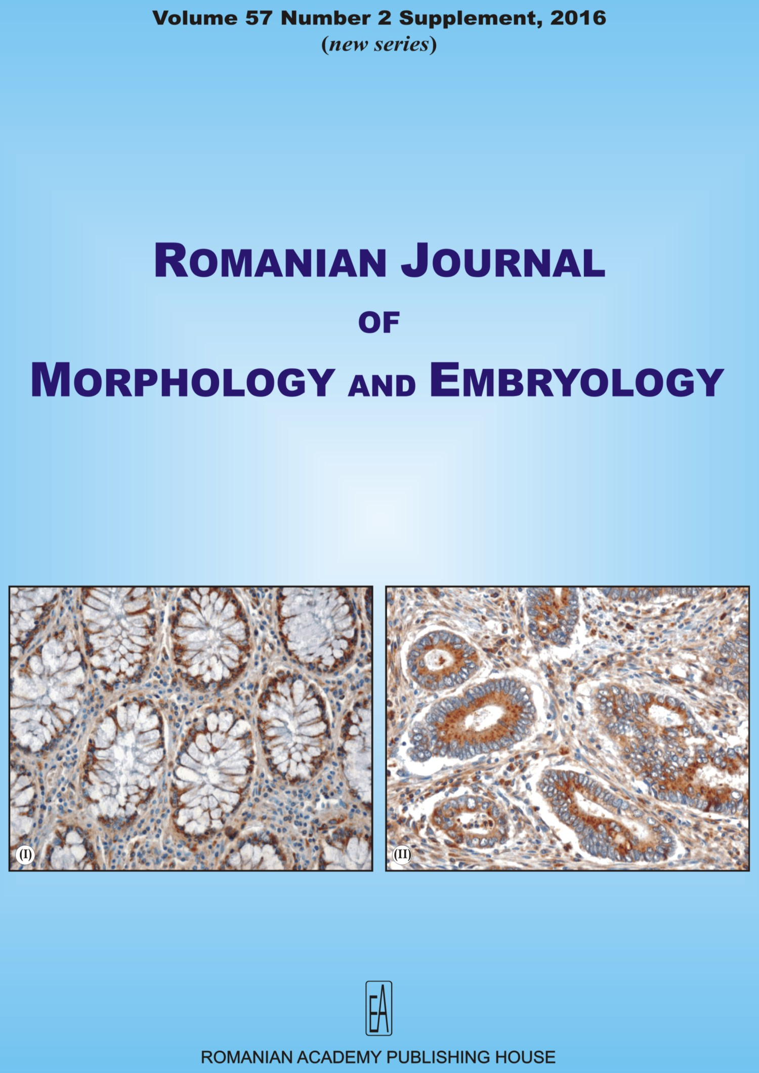 Romanian Journal of Morphology and Embryology, vol. 57 no. 2Suppl, 2016