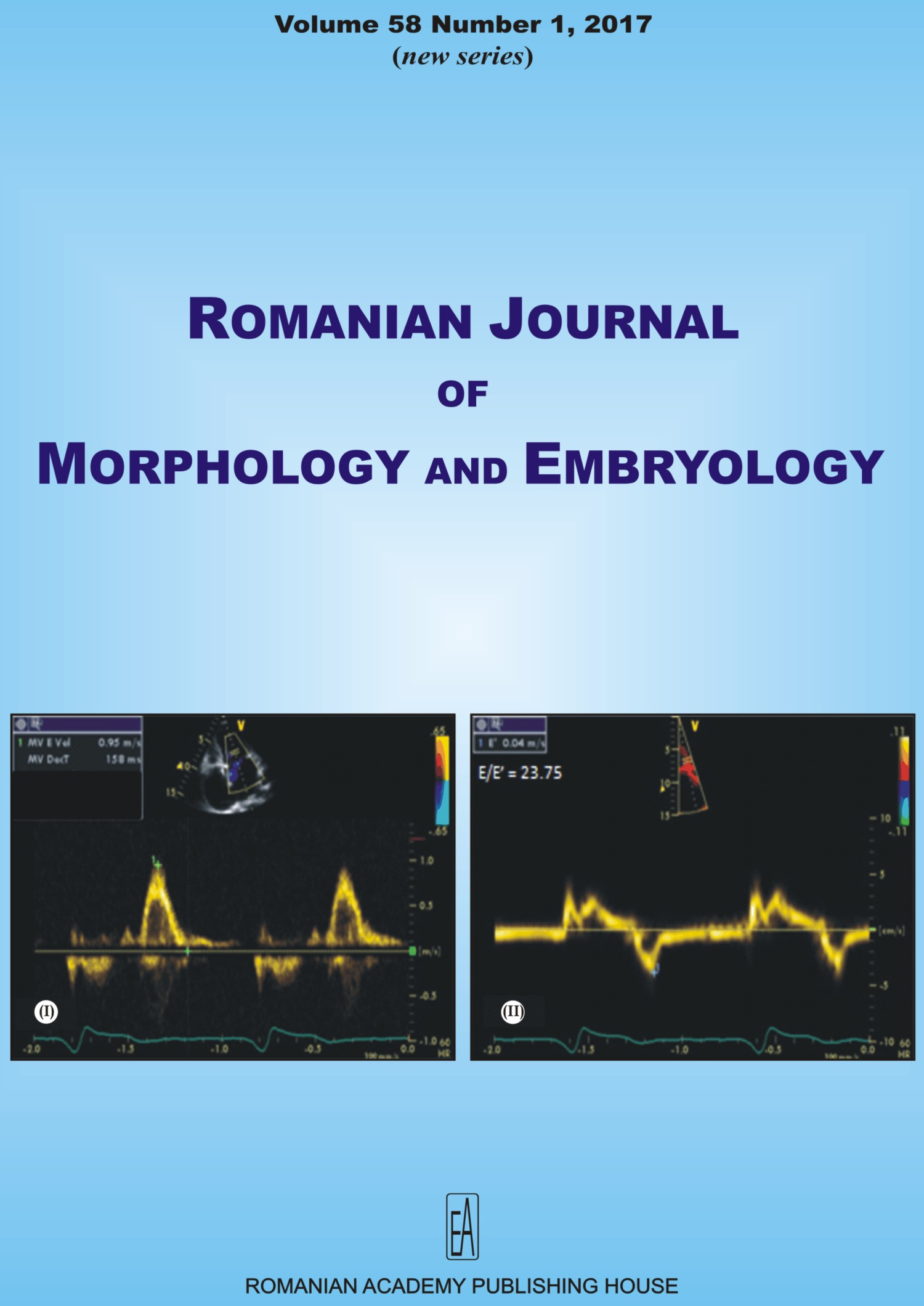 Romanian Journal of Morphology and Embryology, vol. 58 no. 1, 2017