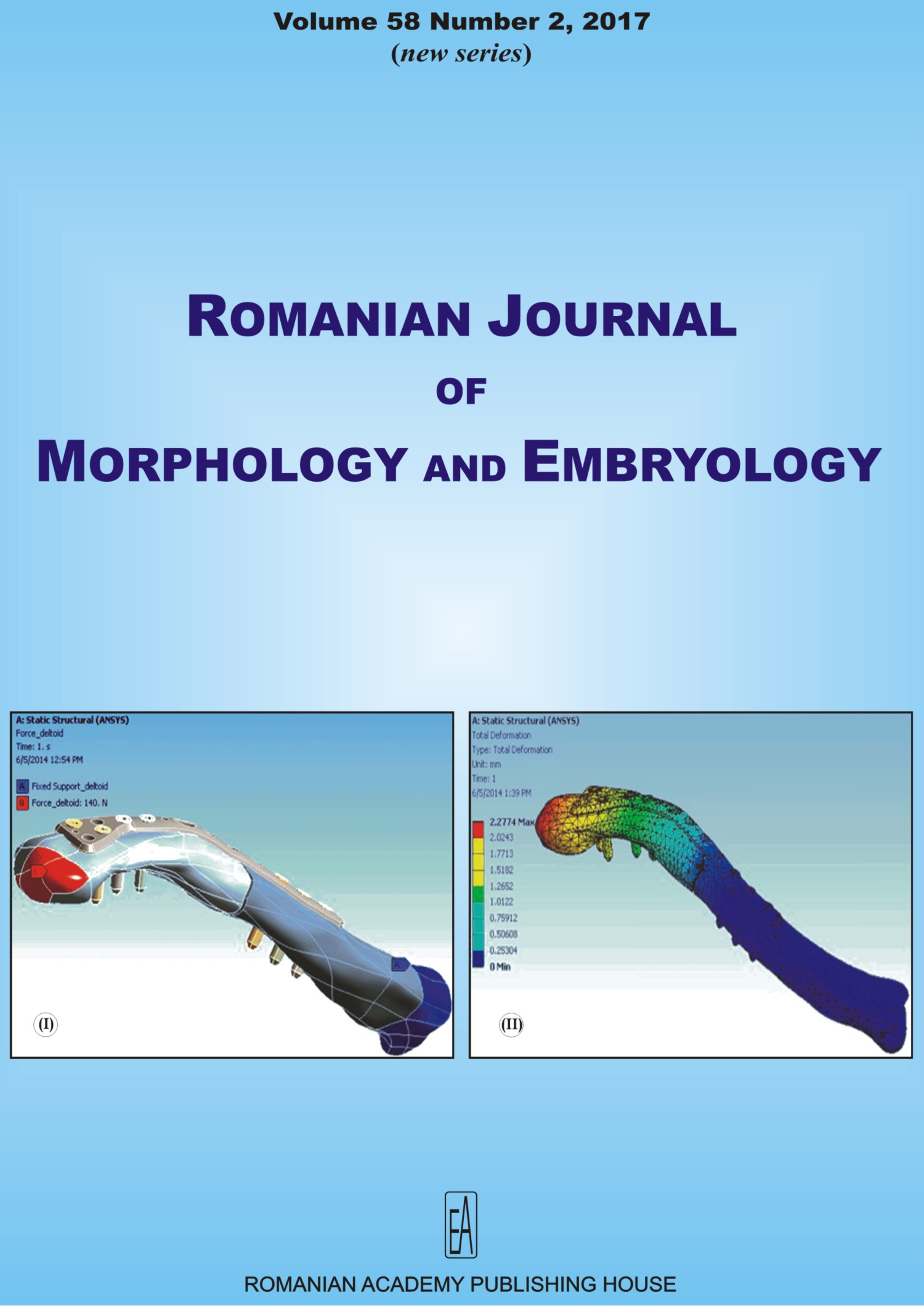 Romanian Journal of Morphology and Embryology, vol. 58 no. 2, 2017