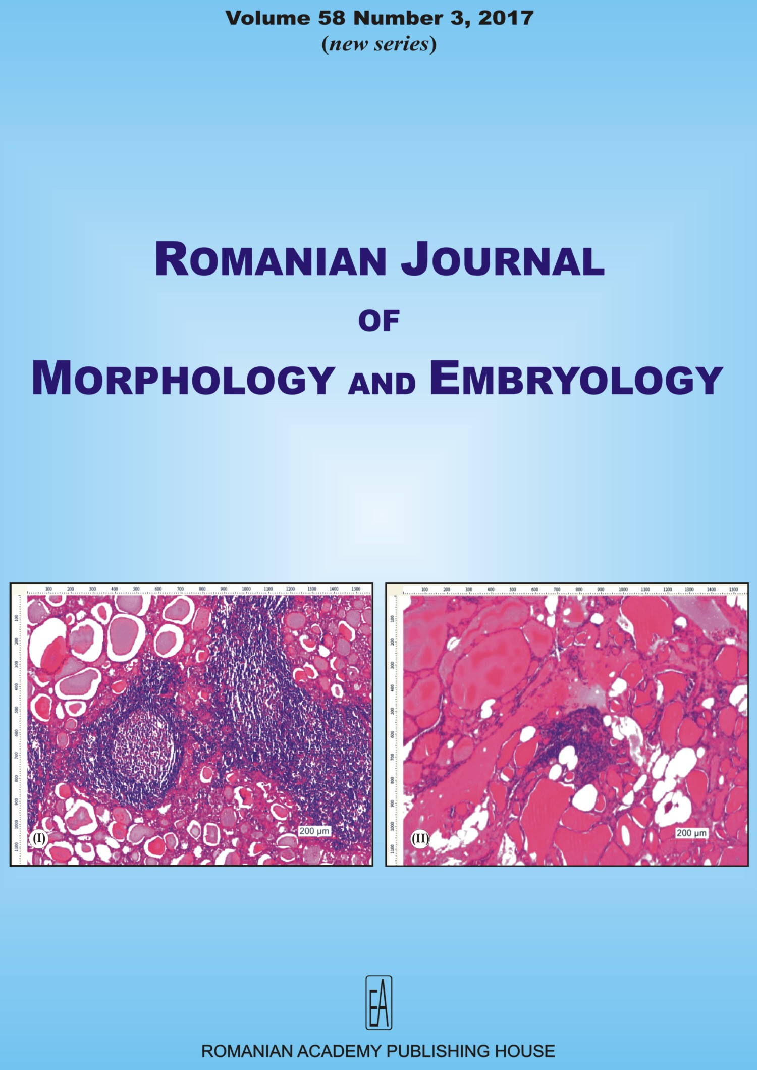 Romanian Journal of Morphology and Embryology, vol. 58 no. 3, 2017