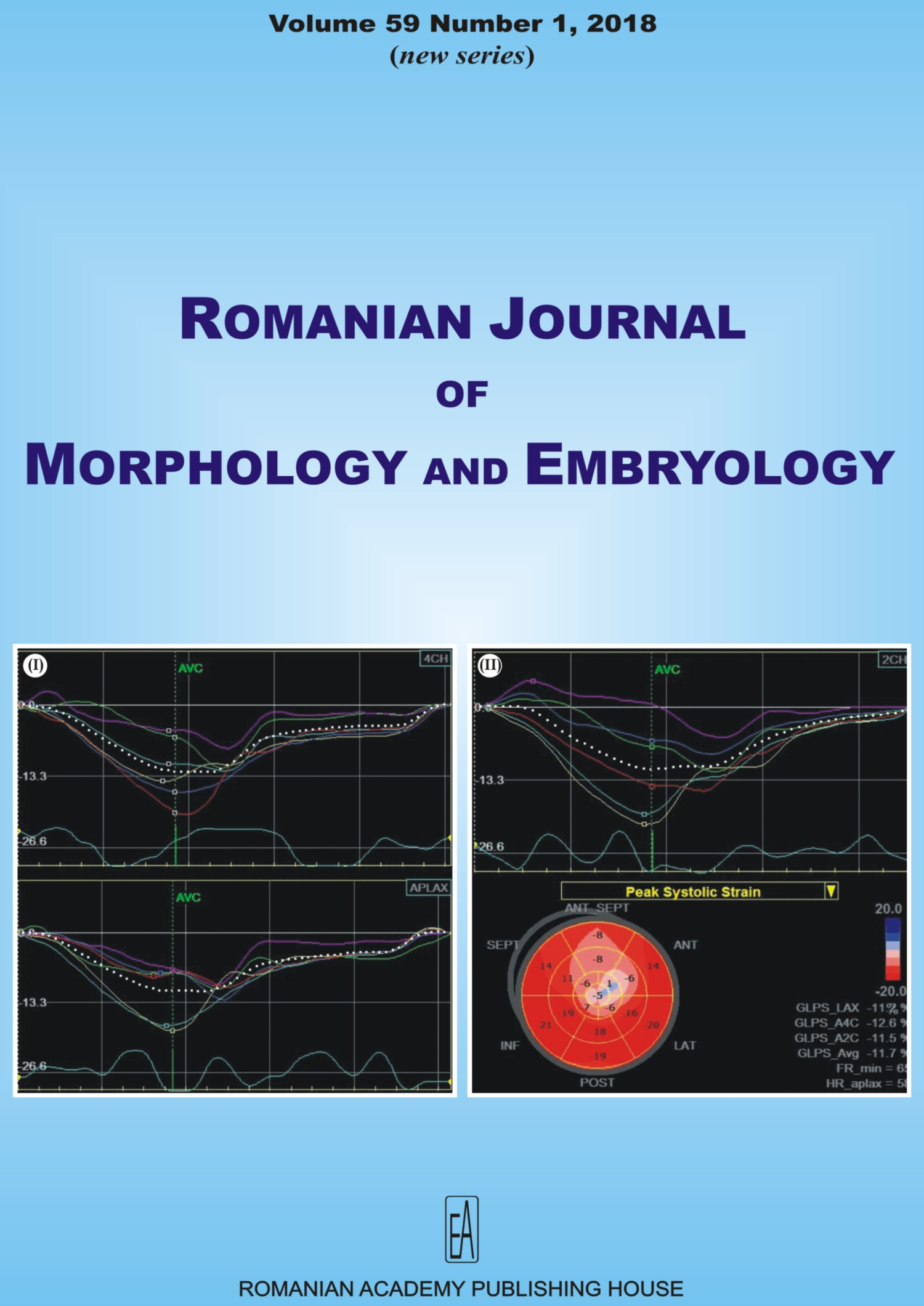 Romanian Journal of Morphology and Embryology, vol. 59 no. 1, 2018