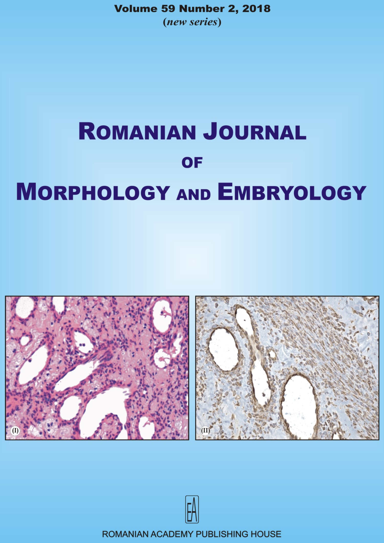 Romanian Journal of Morphology and Embryology, vol. 59 no. 2, 2018