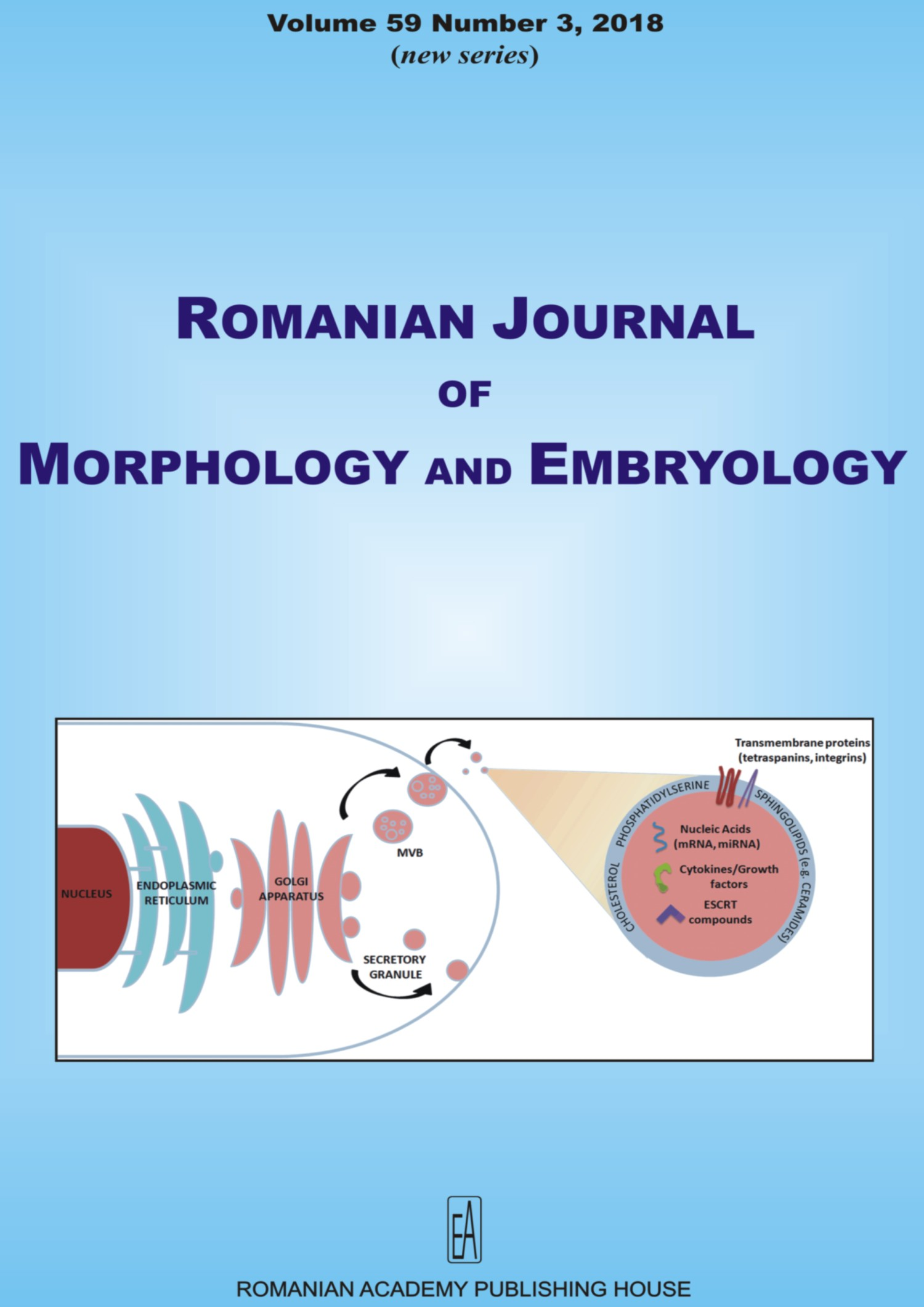 Romanian Journal of Morphology and Embryology, vol. 59 no. 3, 2018